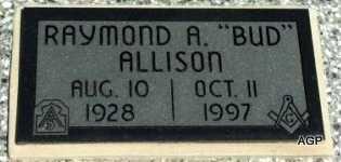 "ALLISON, RAYMOND A ""BUD""  (VETERAN KOR) - Labette County, Kansas | RAYMOND A ""BUD""  (VETERAN KOR) ALLISON - Kansas Gravestone Photos"