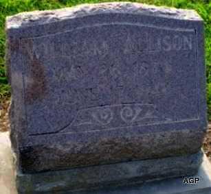 ALLISON, WILLIAM A - Labette County, Kansas   WILLIAM A ALLISON - Kansas Gravestone Photos