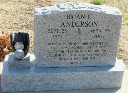 ANDERSON, BRIAN CHRISTOPHER - Labette County, Kansas   BRIAN CHRISTOPHER ANDERSON - Kansas Gravestone Photos