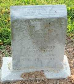 ANDERSON, RAY - Labette County, Kansas   RAY ANDERSON - Kansas Gravestone Photos