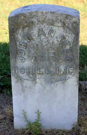 ANGELO, JOHN  (VETERAN UNION) - Labette County, Kansas | JOHN  (VETERAN UNION) ANGELO - Kansas Gravestone Photos