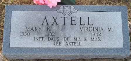 AXTELL, VIRGINIA M - Labette County, Kansas | VIRGINIA M AXTELL - Kansas Gravestone Photos