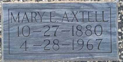 AXTELL, MARY E - Labette County, Kansas | MARY E AXTELL - Kansas Gravestone Photos