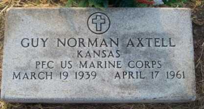 AXTELL, GUY NORMAN   (VETERAN) - Labette County, Kansas   GUY NORMAN   (VETERAN) AXTELL - Kansas Gravestone Photos