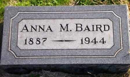 NICKEL BAIRD, ANNA M - Labette County, Kansas   ANNA M NICKEL BAIRD - Kansas Gravestone Photos