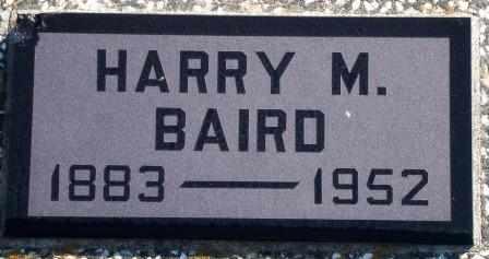 BAIRD, HARRY M - Labette County, Kansas | HARRY M BAIRD - Kansas Gravestone Photos