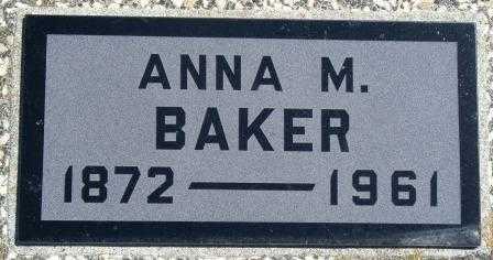 BAKER, ANNA MARGARET - Labette County, Kansas | ANNA MARGARET BAKER - Kansas Gravestone Photos