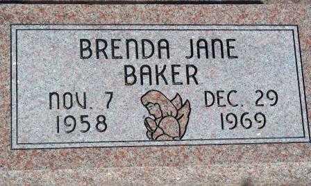 BAKER, BRENDA JANE - Labette County, Kansas   BRENDA JANE BAKER - Kansas Gravestone Photos