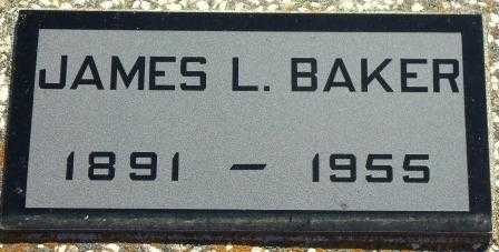 BAKER, JAMES L - Labette County, Kansas | JAMES L BAKER - Kansas Gravestone Photos