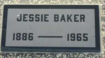 BAKER, JESSIE - Labette County, Kansas   JESSIE BAKER - Kansas Gravestone Photos