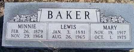 BAKER, LEWIS E - Labette County, Kansas | LEWIS E BAKER - Kansas Gravestone Photos