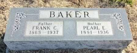BAKER, PEARL ELIZABETH - Labette County, Kansas | PEARL ELIZABETH BAKER - Kansas Gravestone Photos