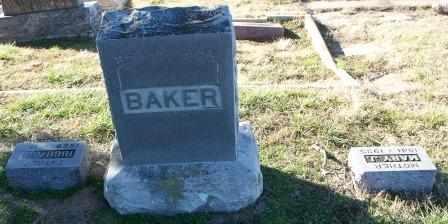 BAKER, MARY J - Labette County, Kansas | MARY J BAKER - Kansas Gravestone Photos