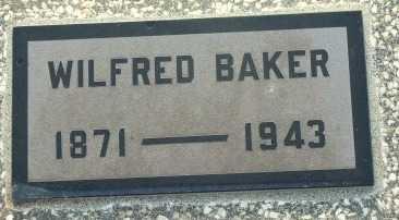 BAKER, WILFRED - Labette County, Kansas | WILFRED BAKER - Kansas Gravestone Photos