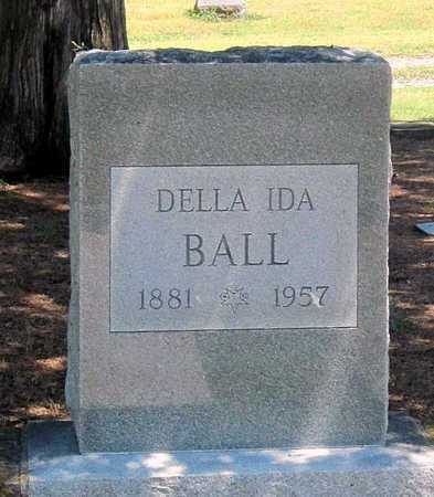 BALL, DELLA IDA - Labette County, Kansas | DELLA IDA BALL - Kansas Gravestone Photos