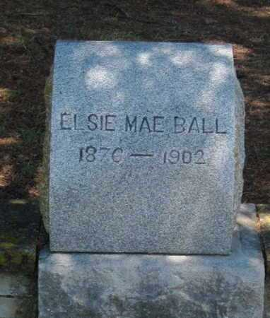 BALL, ELSIE MAE - Labette County, Kansas   ELSIE MAE BALL - Kansas Gravestone Photos