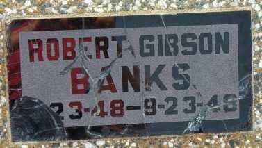 BANKS, ROBERT GIBSON - Labette County, Kansas | ROBERT GIBSON BANKS - Kansas Gravestone Photos