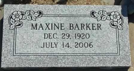 BARNES, BONNIE MAXINE - Labette County, Kansas | BONNIE MAXINE BARNES - Kansas Gravestone Photos
