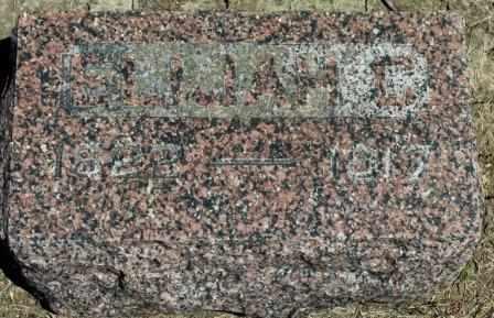 BARKER, ELIJAH - Labette County, Kansas   ELIJAH BARKER - Kansas Gravestone Photos