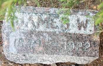 BARKER, JAMES W - Labette County, Kansas | JAMES W BARKER - Kansas Gravestone Photos