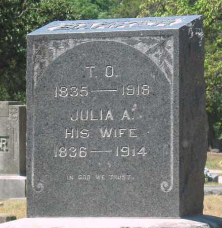 BARKER, JULIA ANN - Labette County, Kansas | JULIA ANN BARKER - Kansas Gravestone Photos