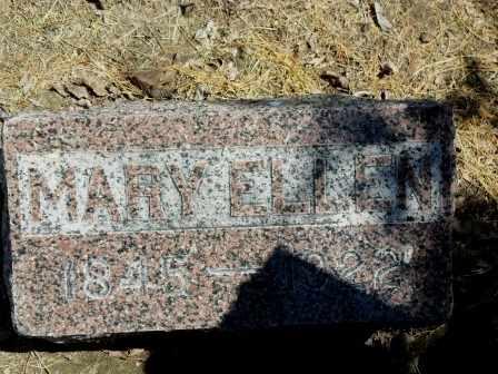 RHODES BARKER, MARY ELLEN - Labette County, Kansas | MARY ELLEN RHODES BARKER - Kansas Gravestone Photos