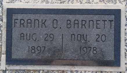 BARNETT, FRANK O - Labette County, Kansas | FRANK O BARNETT - Kansas Gravestone Photos