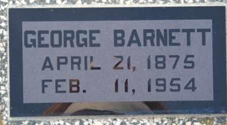 BARNETT, GEORGE AARON - Labette County, Kansas   GEORGE AARON BARNETT - Kansas Gravestone Photos