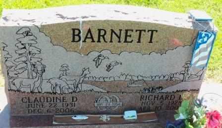 BARNETT, CLAUDIA D - Labette County, Kansas | CLAUDIA D BARNETT - Kansas Gravestone Photos
