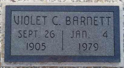 BARNETT, VIOLET C - Labette County, Kansas | VIOLET C BARNETT - Kansas Gravestone Photos
