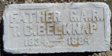 BELKNAP, T C - Labette County, Kansas | T C BELKNAP - Kansas Gravestone Photos