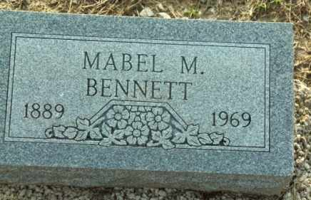 BENNETT, MABEL M - Labette County, Kansas | MABEL M BENNETT - Kansas Gravestone Photos