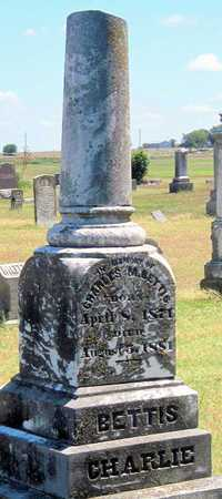 "BETTIS, CHARLES M ""CHARLIE"" - Labette County, Kansas   CHARLES M ""CHARLIE"" BETTIS - Kansas Gravestone Photos"