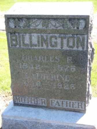 BILLINGTON, CHARLES F - Labette County, Kansas | CHARLES F BILLINGTON - Kansas Gravestone Photos