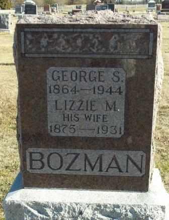 MYERS BOZMAN, LIZZIE - Labette County, Kansas | LIZZIE MYERS BOZMAN - Kansas Gravestone Photos