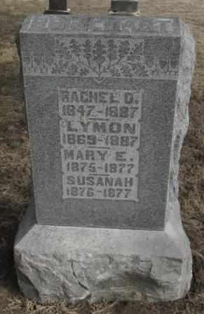 BRILLHART, MARY E - Labette County, Kansas | MARY E BRILLHART - Kansas Gravestone Photos