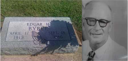 BYBEE, EDGAR HALL - Labette County, Kansas | EDGAR HALL BYBEE - Kansas Gravestone Photos