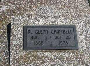 CAMPBELL, R GLENN - Labette County, Kansas | R GLENN CAMPBELL - Kansas Gravestone Photos