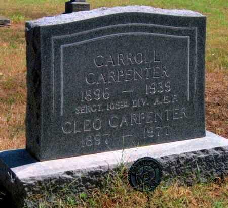 CARPENTER, CLEO    - Labette County, Kansas   CLEO    CARPENTER - Kansas Gravestone Photos