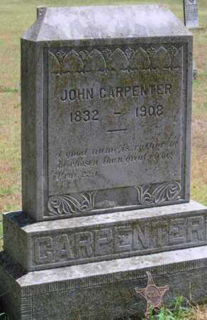 CARPENTER, JOHN - Labette County, Kansas   JOHN CARPENTER - Kansas Gravestone Photos