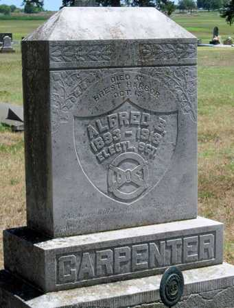 CARPENTER, ALFRED BAKER   (VETERAN WWI, KIA) - Labette County, Kansas   ALFRED BAKER   (VETERAN WWI, KIA) CARPENTER - Kansas Gravestone Photos