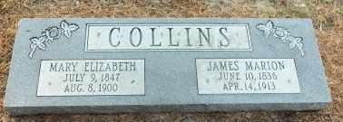 JONES COLLINS, MARY ELIZABETH - Labette County, Kansas | MARY ELIZABETH JONES COLLINS - Kansas Gravestone Photos