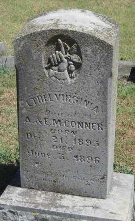 CONNER, ETHEL VIRGINIA - Labette County, Kansas | ETHEL VIRGINIA CONNER - Kansas Gravestone Photos