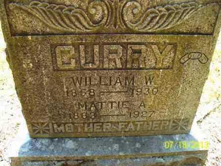 CURRY, MATTIE A - Labette County, Kansas | MATTIE A CURRY - Kansas Gravestone Photos