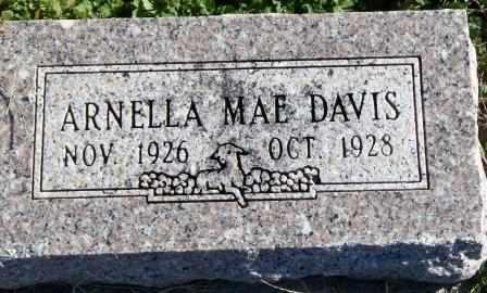 DAVIS, ARNELLA MAE - Labette County, Kansas | ARNELLA MAE DAVIS - Kansas Gravestone Photos