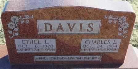 DAVIS, ETHEL L - Labette County, Kansas | ETHEL L DAVIS - Kansas Gravestone Photos