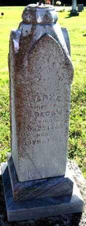 DECOW, MARY E - Labette County, Kansas | MARY E DECOW - Kansas Gravestone Photos