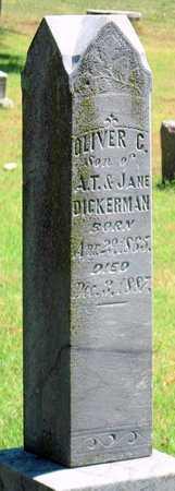 DICKERMAN, OLIVER C - Labette County, Kansas | OLIVER C DICKERMAN - Kansas Gravestone Photos