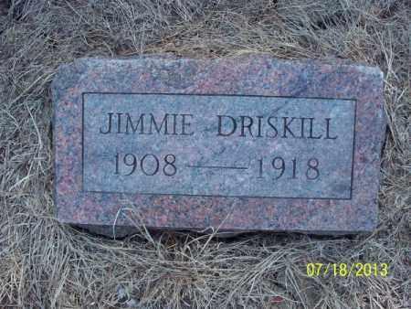 DRISKILL, JIMMIE - Labette County, Kansas | JIMMIE DRISKILL - Kansas Gravestone Photos