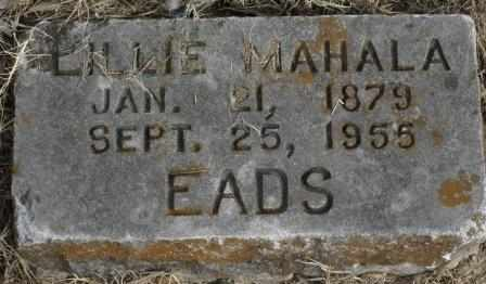 EADS, LILLIE MAHALA - Labette County, Kansas   LILLIE MAHALA EADS - Kansas Gravestone Photos